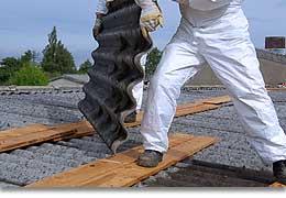 Asbestsanierung Dachstil