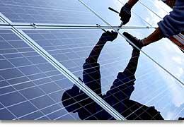 Dienstleistung Energiegewinnung
