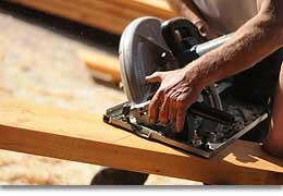 Holzarbeiten Dachstil